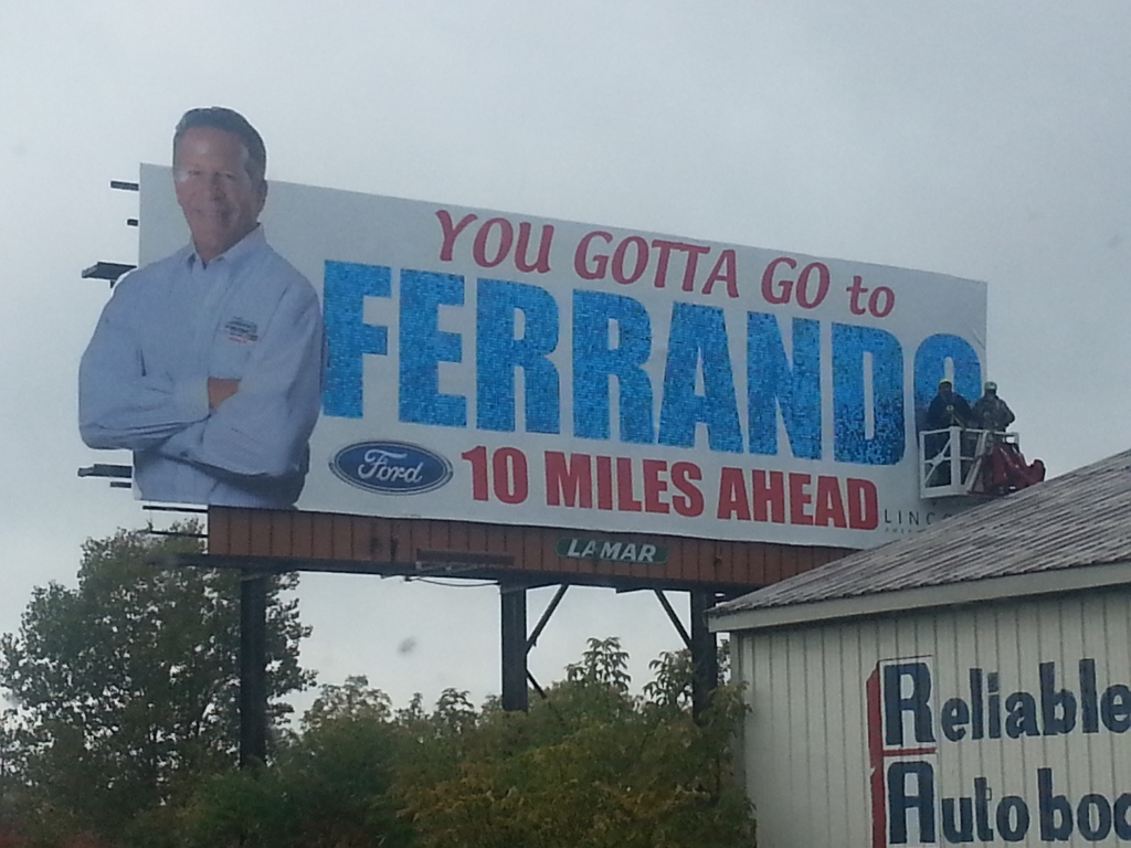 Lamar Erie, PA Ferrando Ford SolaRay Billboard (1024x768).jpg