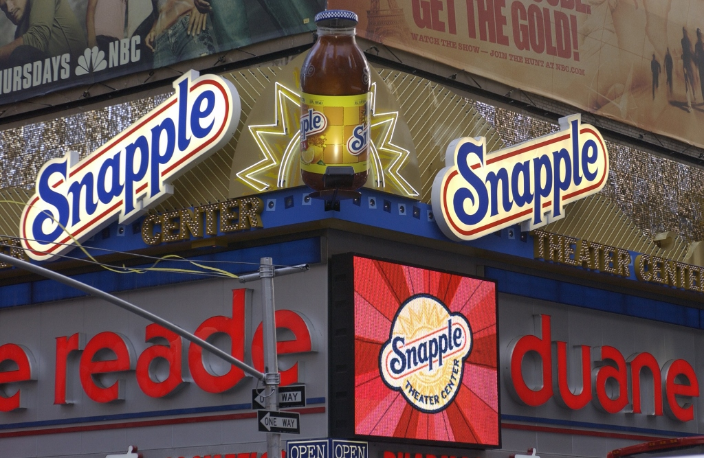 Snapple Theater, Broadway, Times Square 2